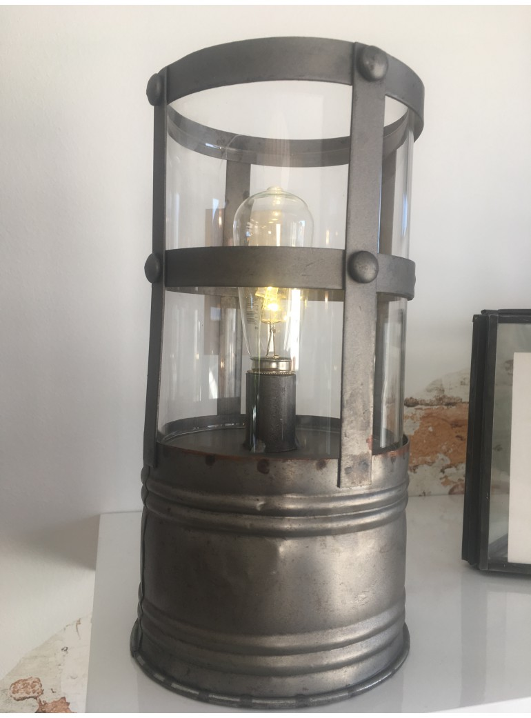 LAMPE DE TABLE INDUSTRIEL